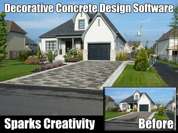 Decorative Concrete Software Sparks Creativity With
