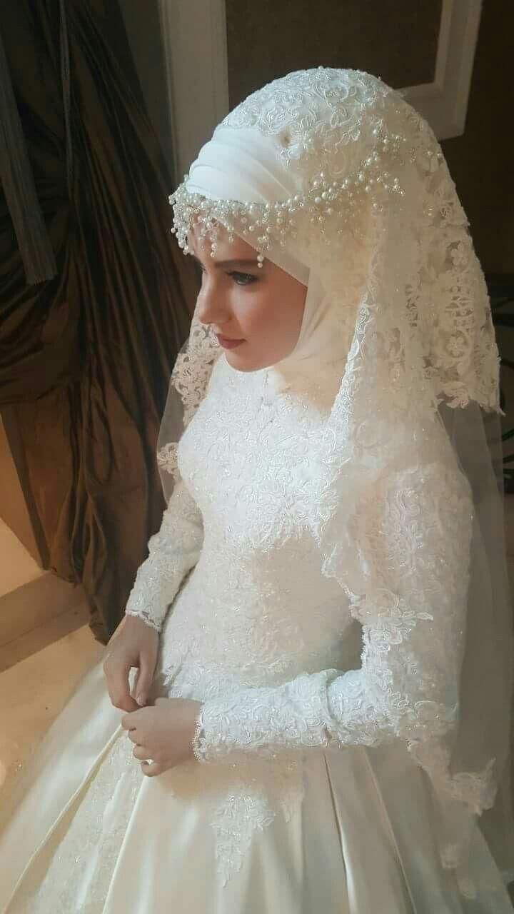 Pin by büşra eyüp on gelinlik pinterest muslim brides wedding