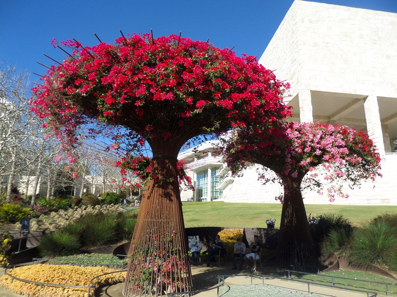 Getty Museum Garden The Getty Center Is Fun Educational 640 x 480