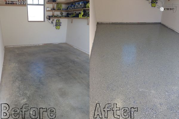 paint to rock your diy how garage solid floor coating rustoleum