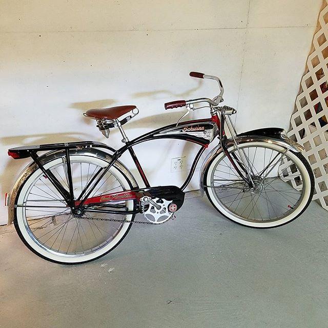 cb97e492ecb Schwinn Black Phantom Bicycle 1948 original.   Schwinn Cruisers ...
