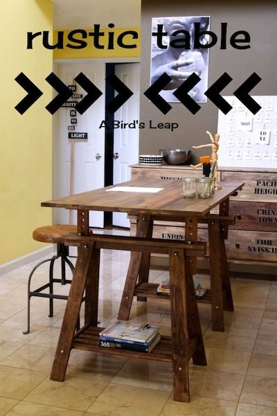 15 Of The Coolest DIY Craft Room Tables Ever