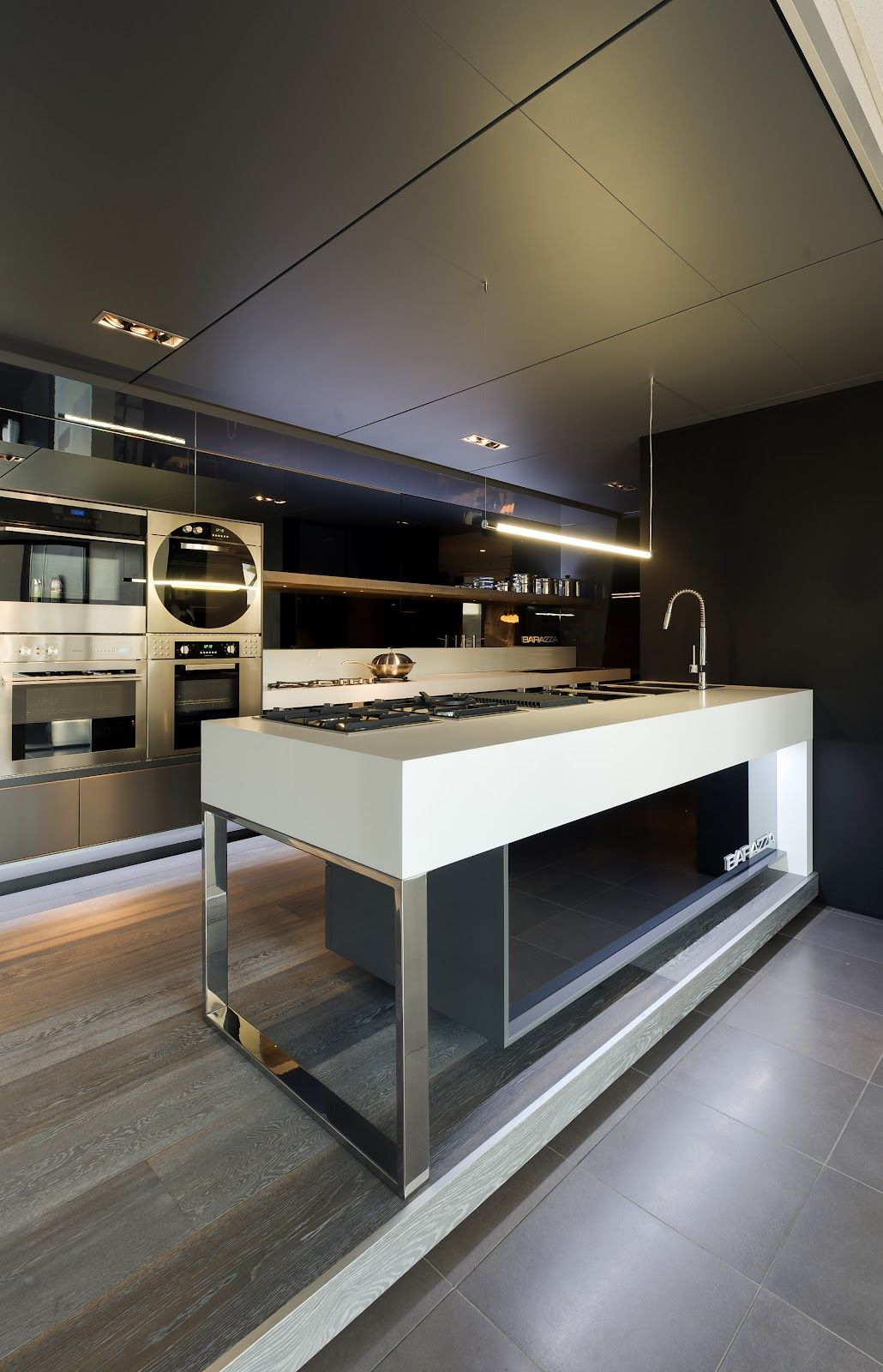 A beautiful modern kitchen design is this too much for you