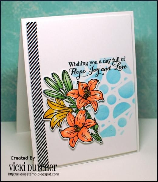 CC525 DT sample- Vicki\u0027s card Handmade Cards #2 Pinterest Ibs - Sample Cards
