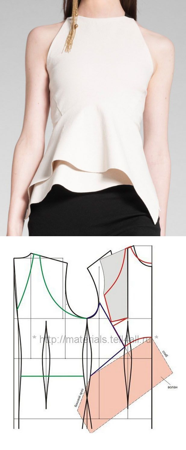 Donna Karan top | Sew | Pinterest | Patrones, Blusas y Costura