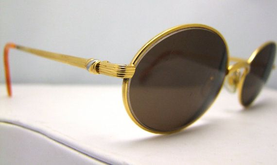 72553175e12 Vintage Cartier Paris 24K gold filled eyeglasses by ifoundgallery ...