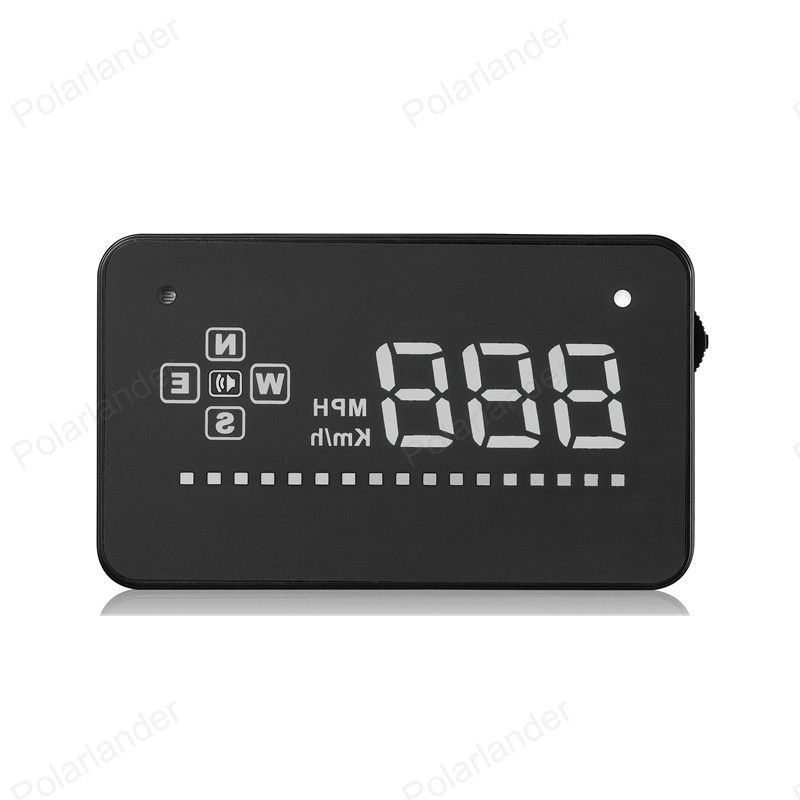 New Head Up Display A2 Gps Car Hud Car Speedometer Over Speed