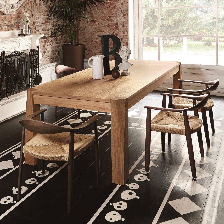Colico Design Tavoli.Tavolo Stile Nordico In Rovere Slash Di Colico Diotti Com
