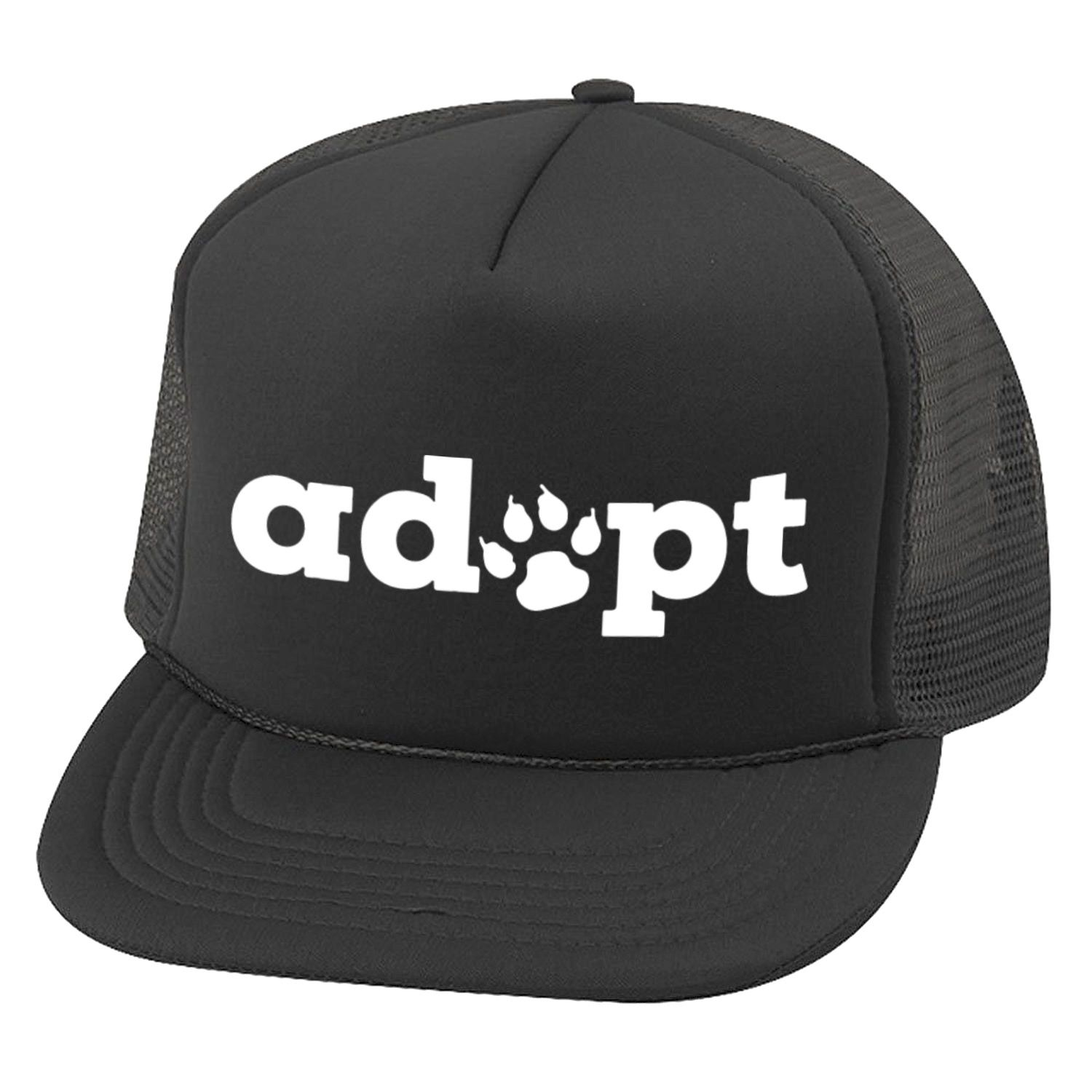 Adopt Paw Trucker Hat | Hats, Hat sizes, Style snaps