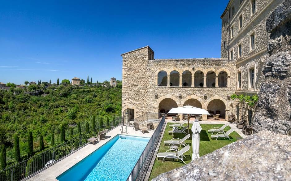 La Bastide De Gordes Consists Of 39 Bedrooms And Suites It Is Located In Provence One The Region S Newest Hotels