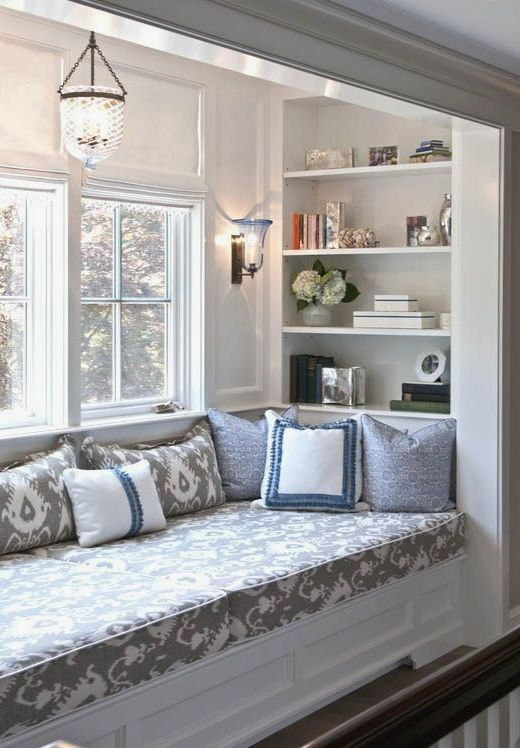 Image result for living room bay window seat ideas window seats