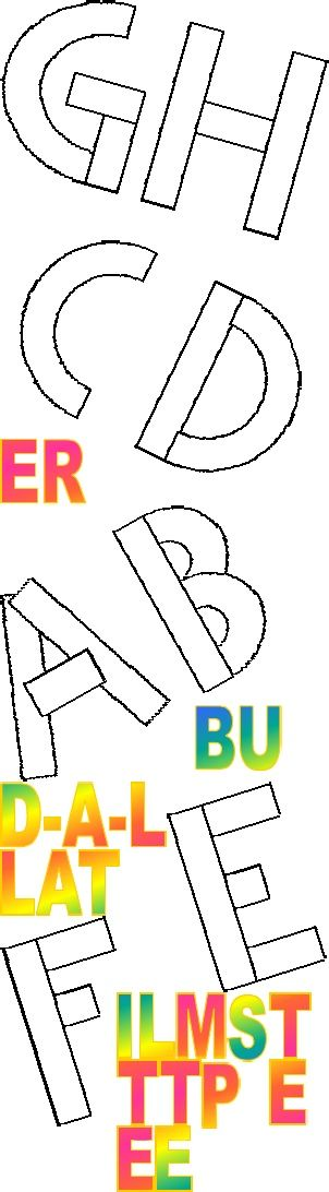 Build a letter templates 2nd edition education pre k build a letter templates 2nd edition kids alphabetalphabet letterslearning spiritdancerdesigns Choice Image