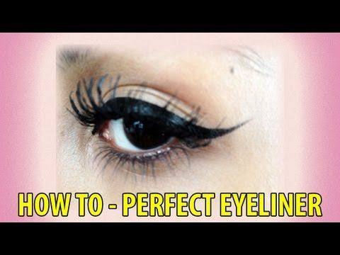 How to do Your Eyeliner Perfectly