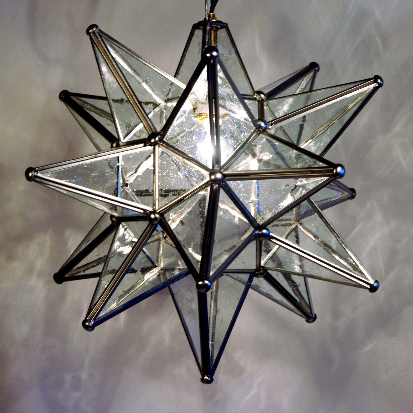 Shop Quintana Roo 9640 Glass Moravian Star Pendant At Atg Stores