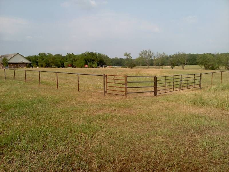 Our Land Would Be Divided Into Multiple Pastures So That We Can Use Rotational Grazing On Our Operation Livestock Fence Pasture Fencing Livestock Fence Panels
