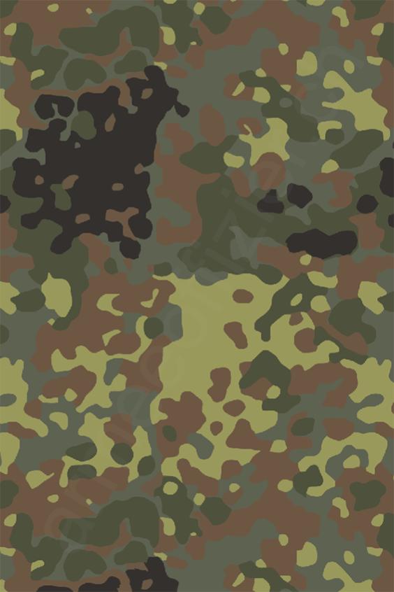 Bundeswehr Deutschland Flecktarn by armeeoffizier.ch