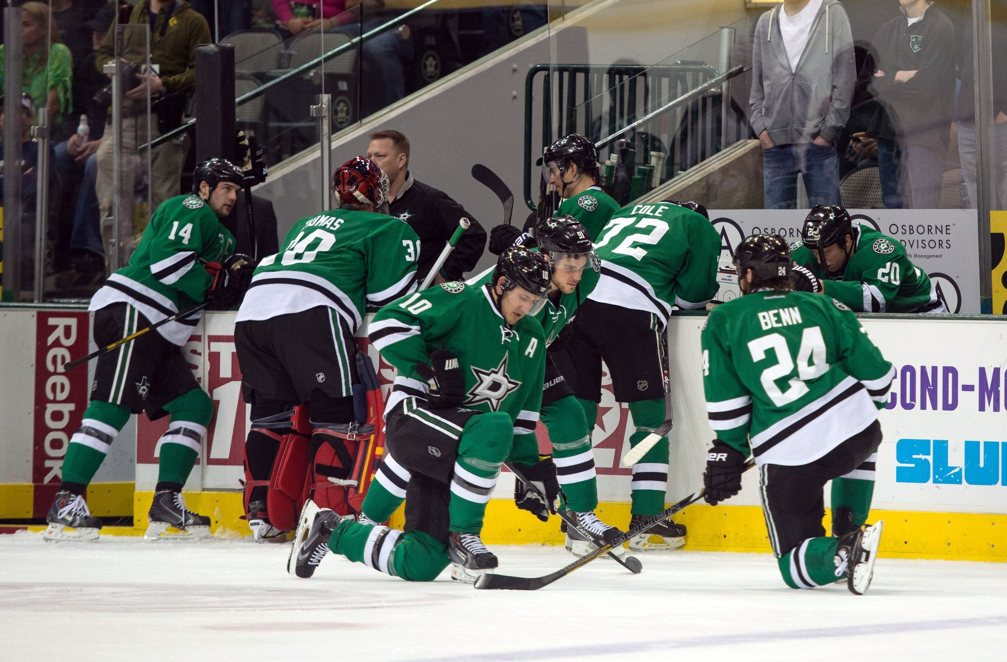 DALLAS Dallas Stars center Rich Peverley collapsed on the bench Monday during the first