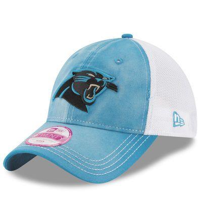 Women s Carolina Panthers New Era Blue Spirited 9TWENTY Adjustable ... 380b1e7997b2