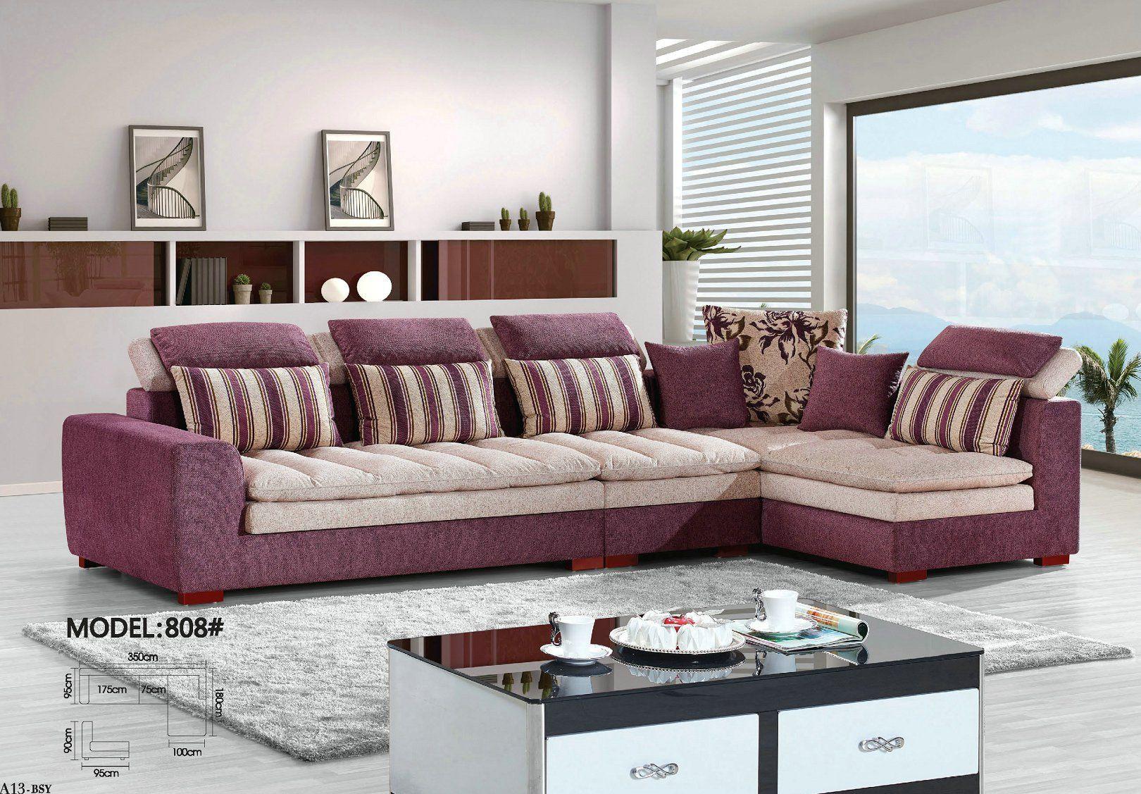 Pin By Molan On Modern Fabric Sofa Living Room Sofa Design Sofa Set Designs Corner Sofa Design