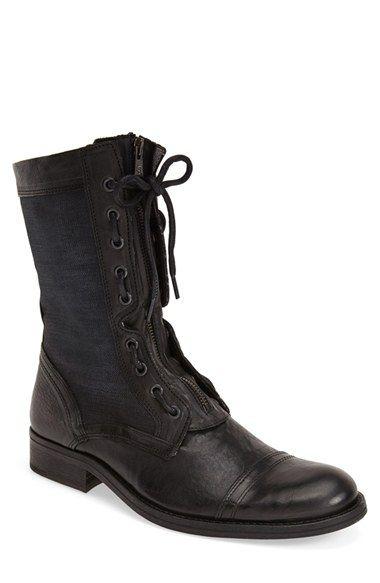 990172bed906c Men s Victorian style work boots  Mens Rogue Talis Cap Toe Boot Size 8 M -  Black  375.00 AT vintagedancer.com