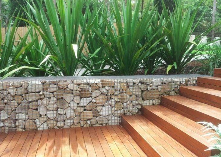 Muros De Gaviones Para Decorar En Jardin Garden Decorations - Muros-jardin