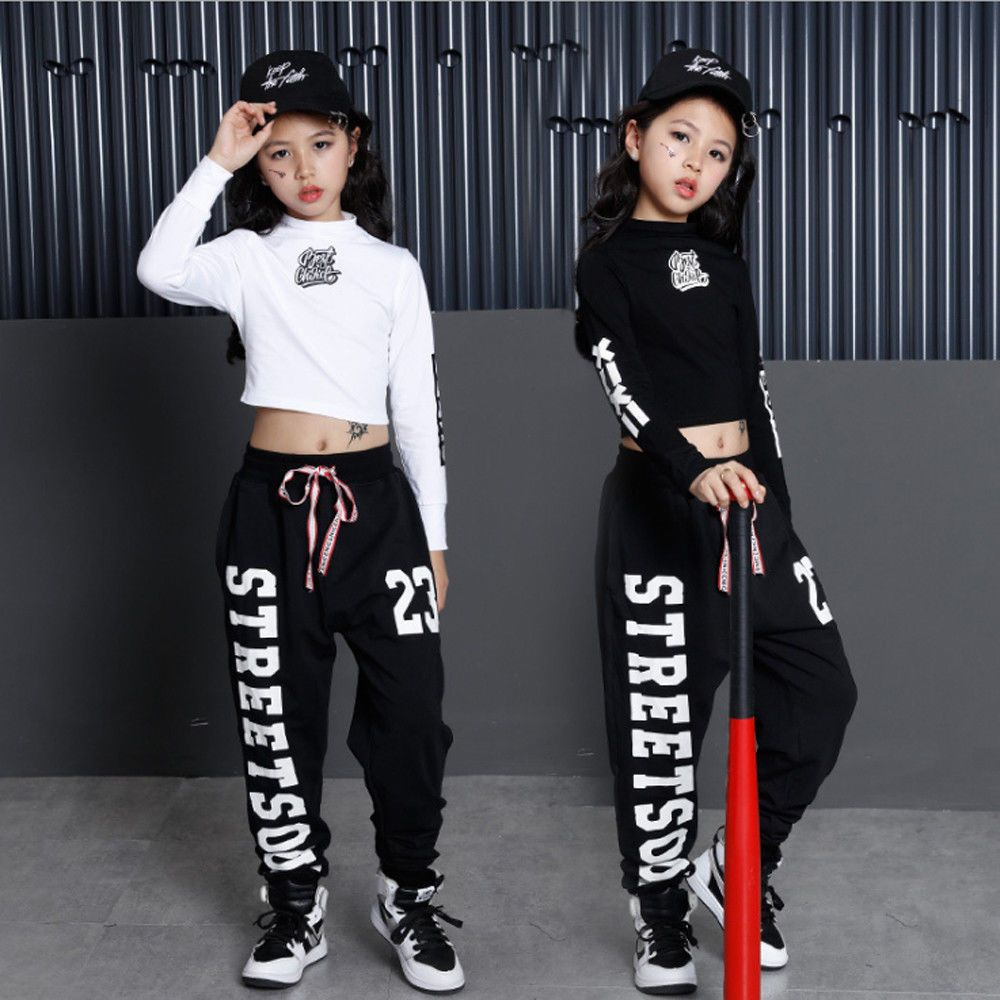 Kids Boys Girls Tracksuit 2PC Sportswear Sweatsuit Top+Pants Set Cotton Costumes
