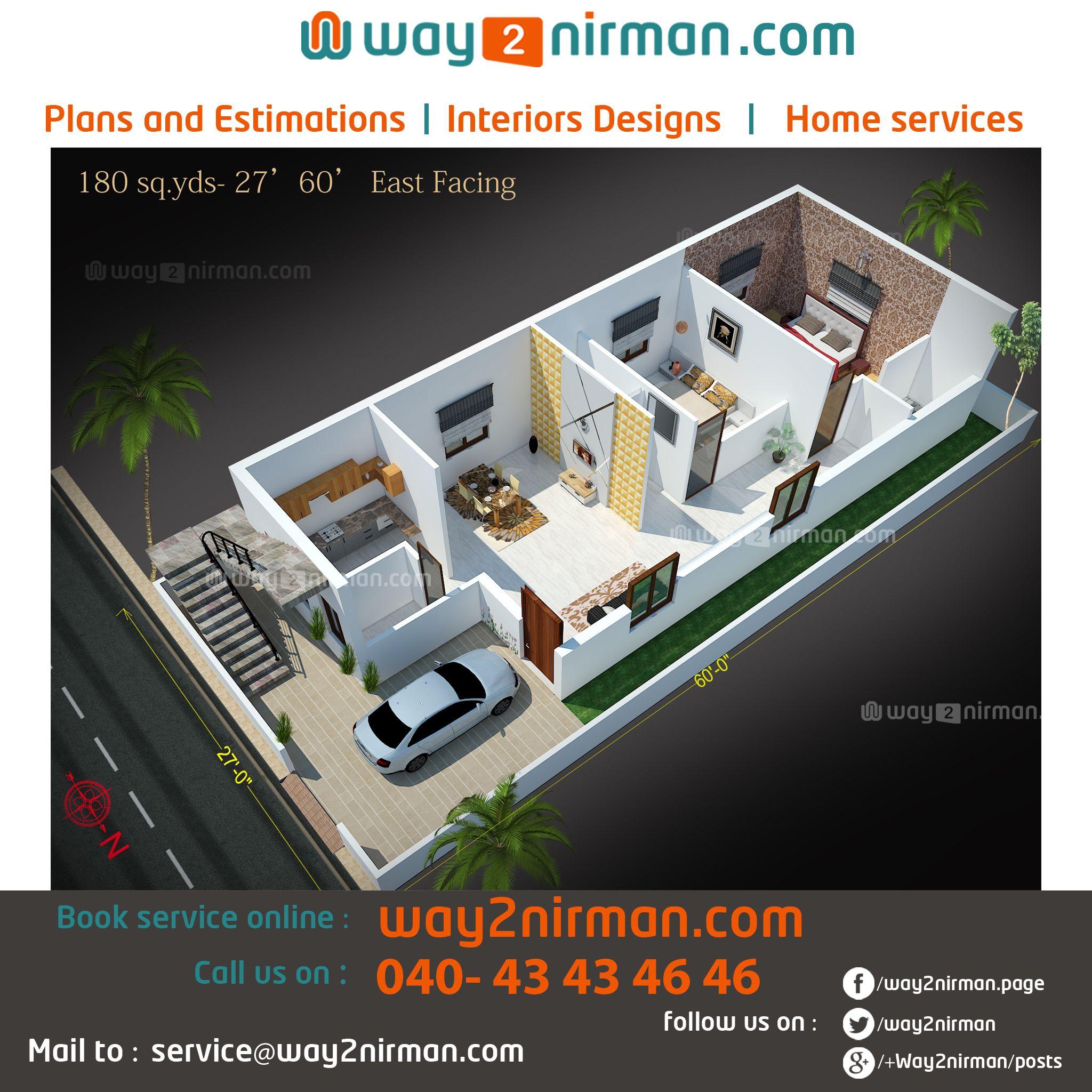 HousePlans # Elevations # BuildingPlans # 3DView ...