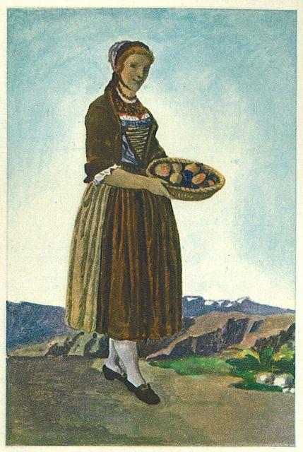 Aus Schweizer Volksleben und -Geschichte Serie 15 XVIII Jahrhundert Bild 85    Villiger Album; Thurgau