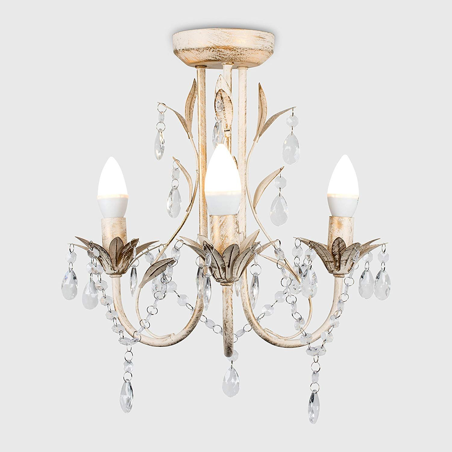 Shabby Chic Chandelier – Give a Royal Touch to Your Interior Design!