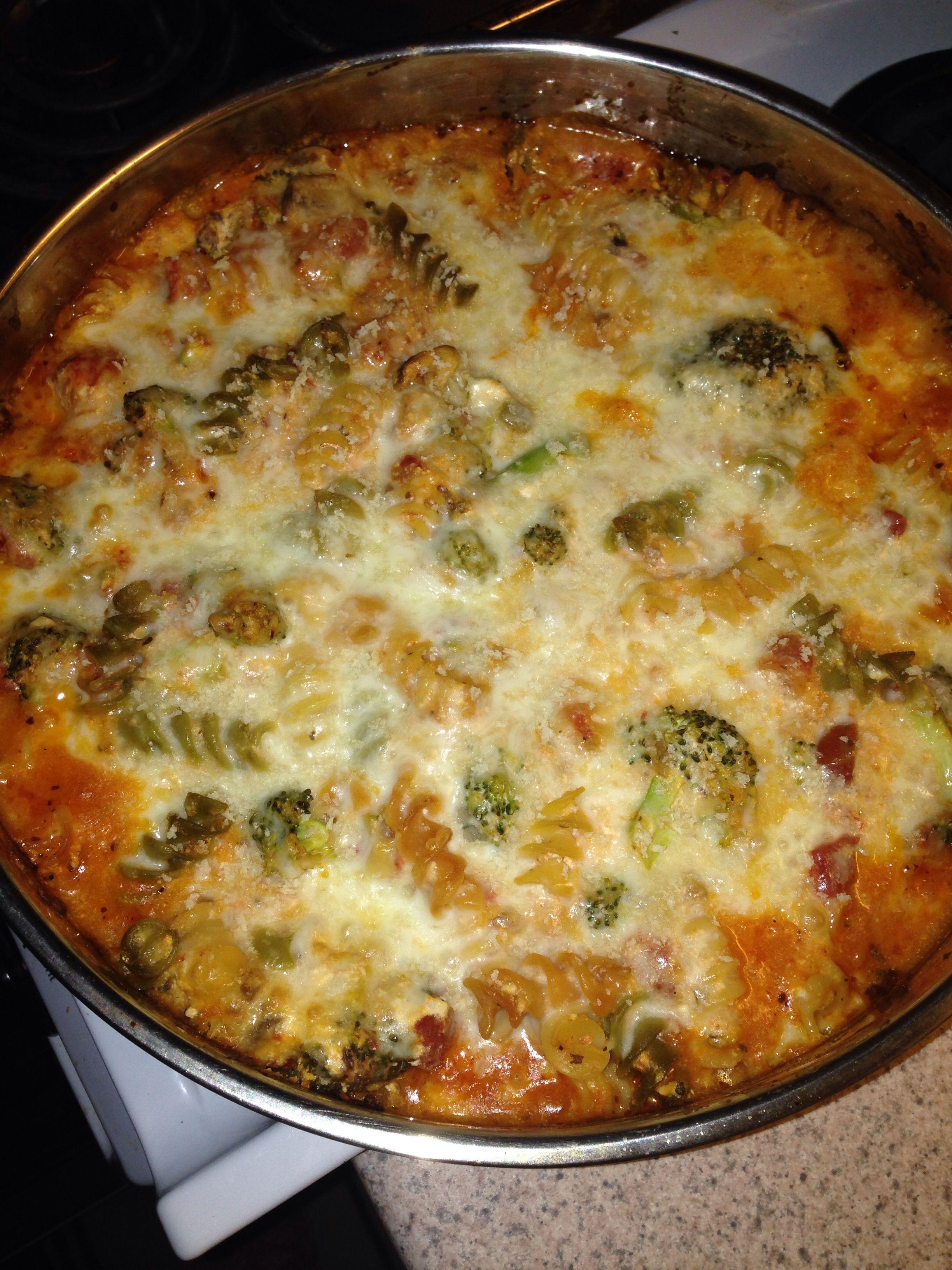baked ziti baked ziti with creamy kale sausage roasted vegetable baked ...