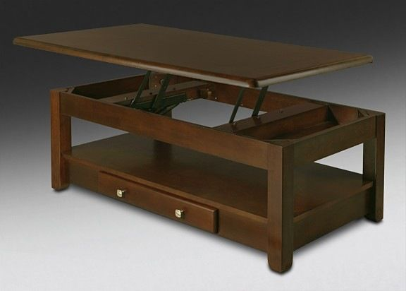 Coffee Table That Lifts Up For Your Laptop Or Food
