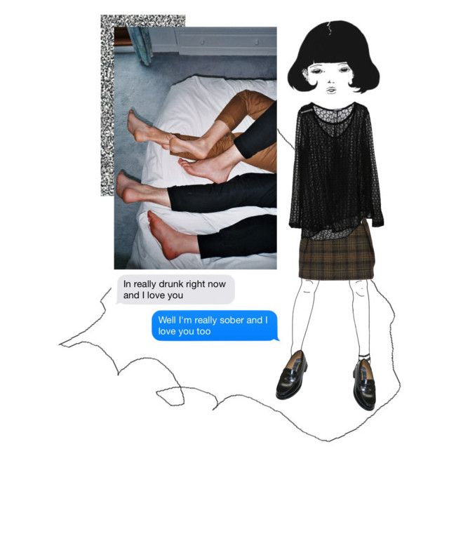 """""""no"""" by littleflowergirl ❤ liked on Polyvore featuring Evil Twin, Barlow and GANT"""