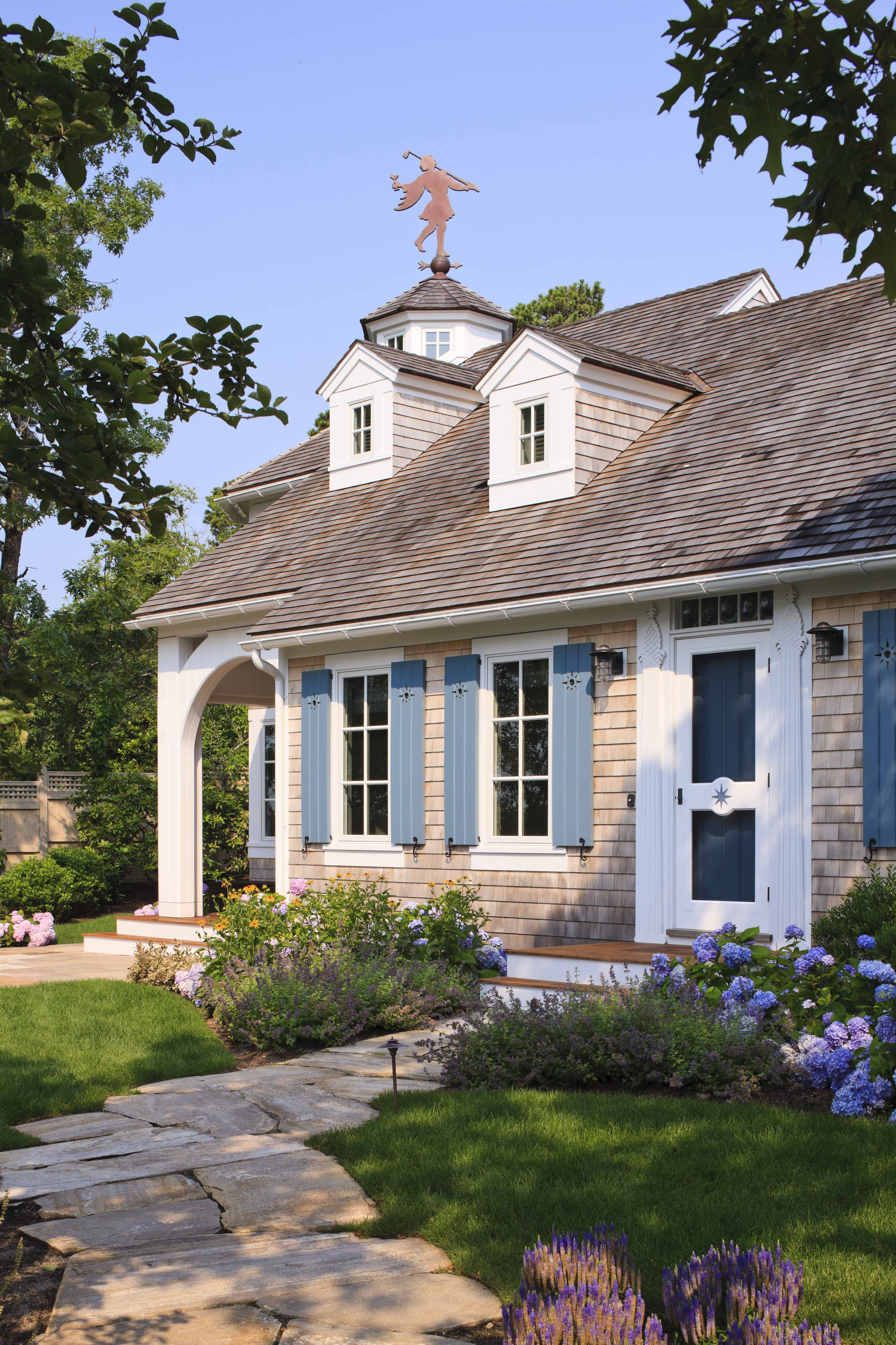 A Fool S Paradise Saving A Tiny Cape Results In A Home With Sophistication Whimsy Cottage Exterior Cottage Style Beach Cottage Style