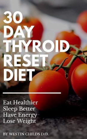 30 day thyroid reset diet ebook cover #healthcare #healthydiet #thyroid #diet #health #wellness