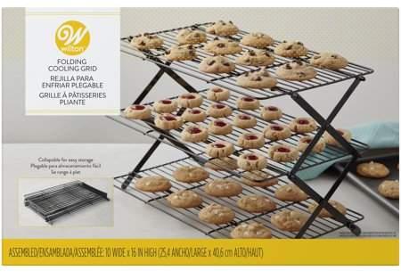 Wilton 3 Tier Collapsible Cooling Rack Walmart Com Food Hacks Baking Supplies Food