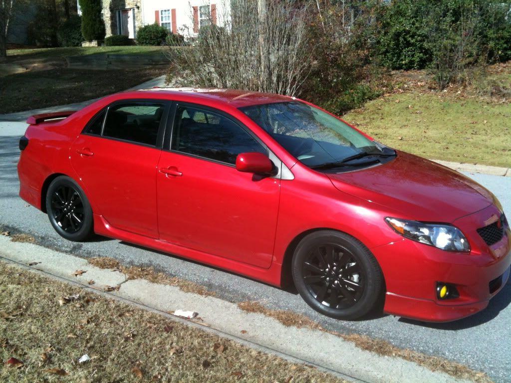 Lowered+corolla | 2010 Corolla S 5spd New Mods
