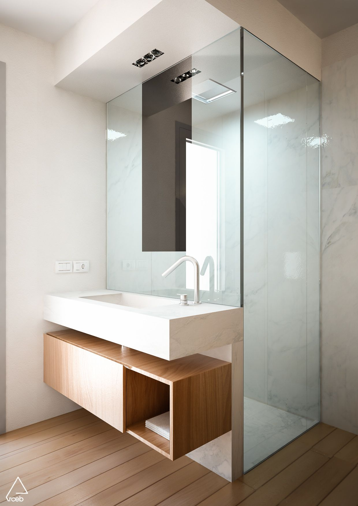 COCOON bathroom design inspiration | modern high-end stainless steel ...