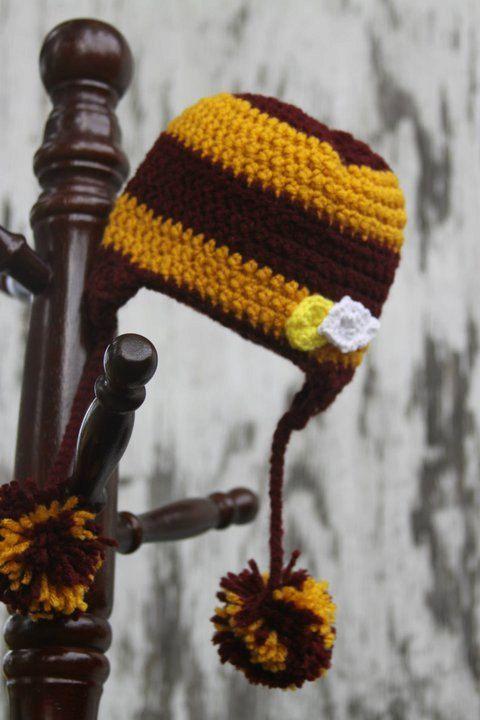 Harry Potter Snitch crochet hat in by SillyStitchesCrochet on Etsy ...