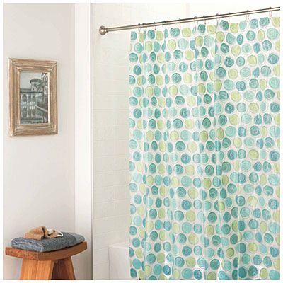Amazing Living Colors™u003cbru003eHeavy Weight Peva Vinyl Printed Shower Curtains At Big