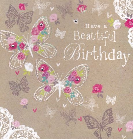 BeautifulBirthdayButterfliesCardbuy Birthday Cards Online Female Card For Her Butterfly Butterf