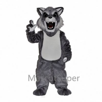 Cute Fierce Husky Dog Mascot Costume
