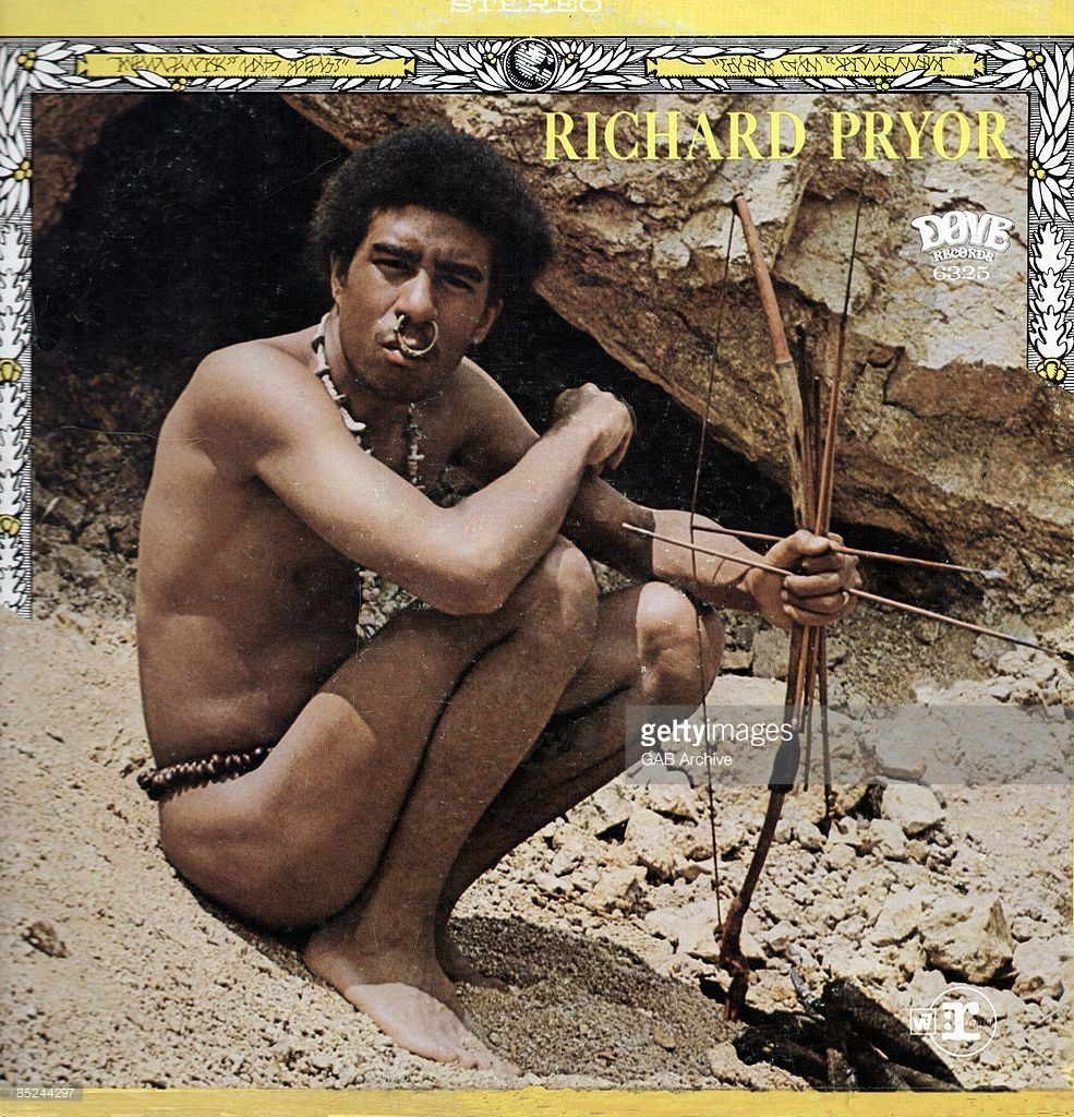 Photo of Album Cover and Richard PRYOR; album cover - 'Richard Pryor'
