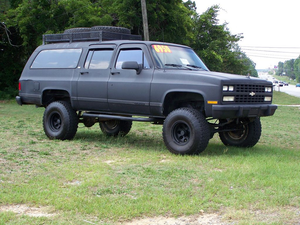 All Chevy 1989 chevy : 1989 chevy suburban 2500 - Google Search | off road ish ...