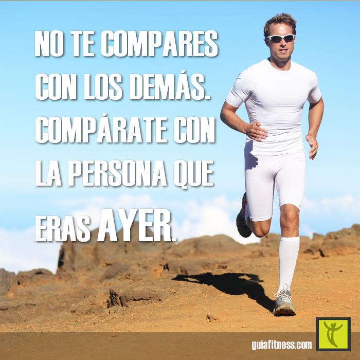 No Te Compares Con Los Demás Compárate Con La Persona Que