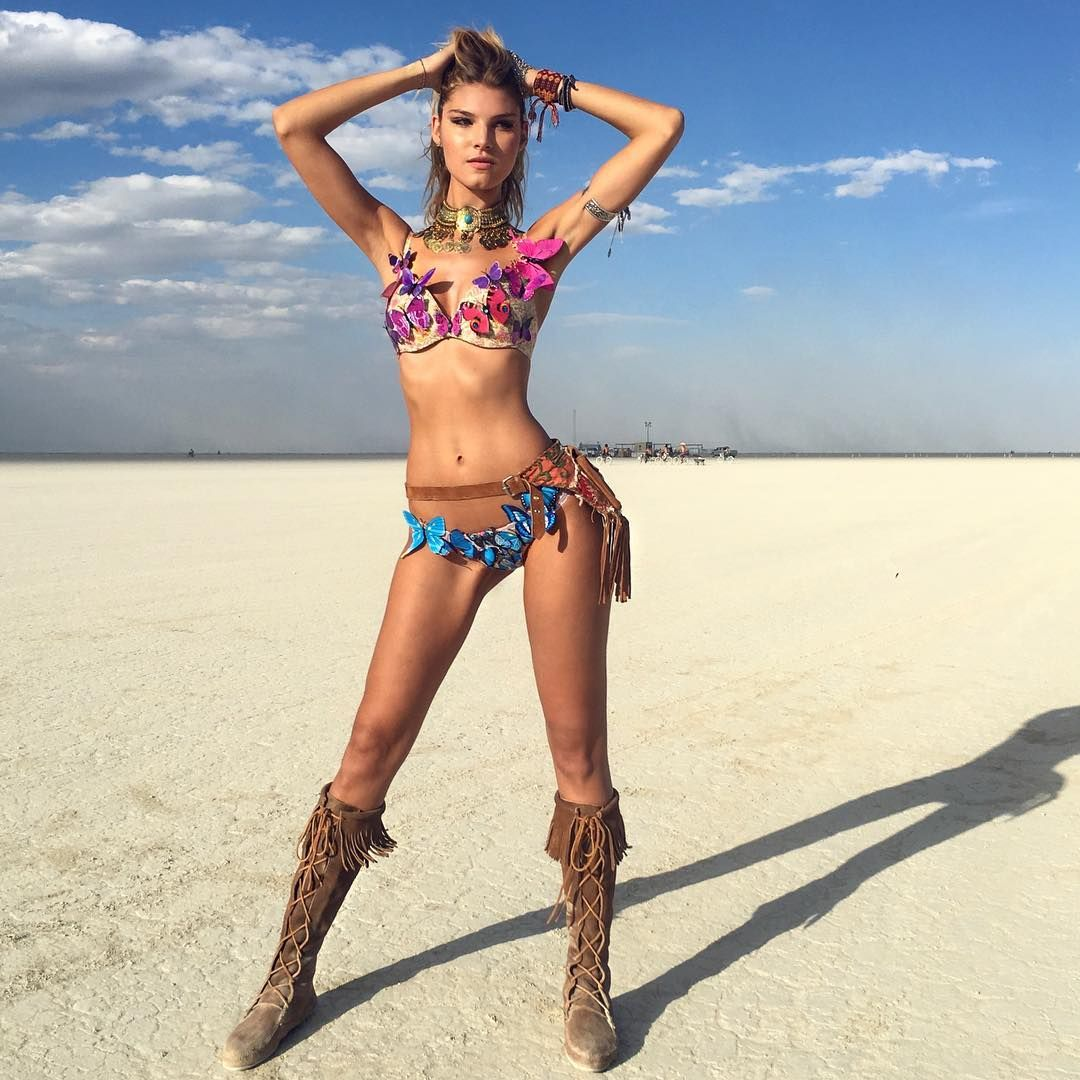 Something is. burning man nudes pussy