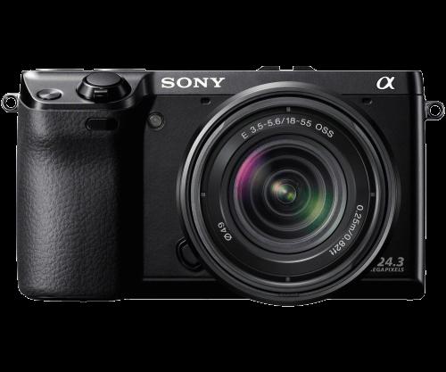Alpha Nex 7 With 18 55mm Lens Sony Nex Digital Camera System Camera