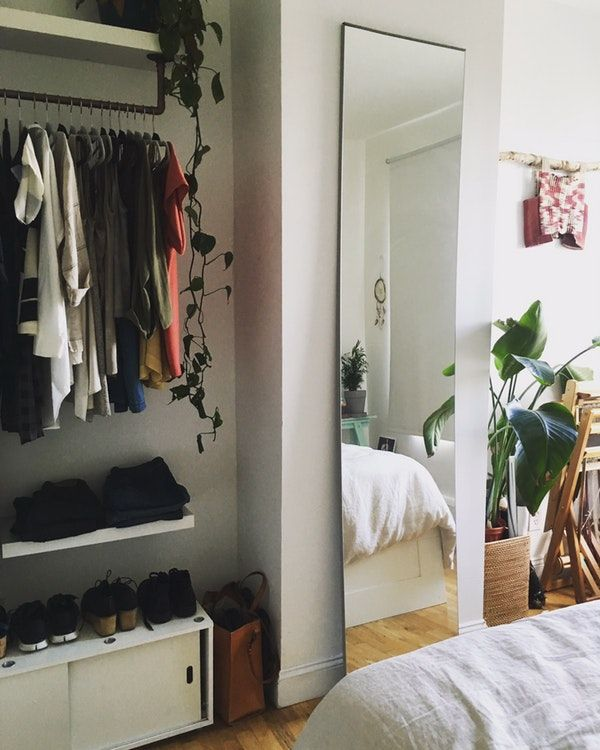 "Large Studio Apartments: IKEA Mirror Wardrobe Door Extra Large 90"" Tall, The"