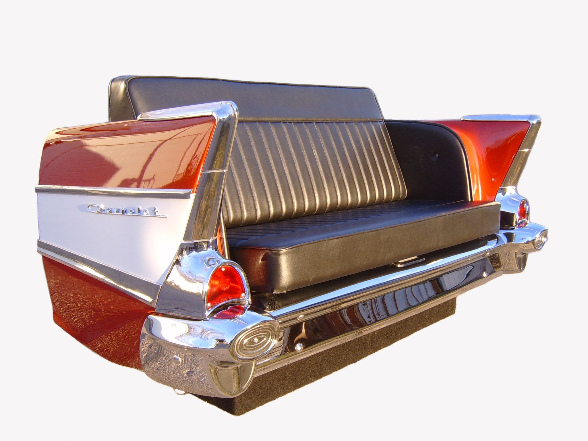 57 Chevy Sofa - Year of Clean Water