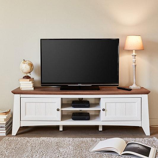meuble tv pas cher meuble blanc et