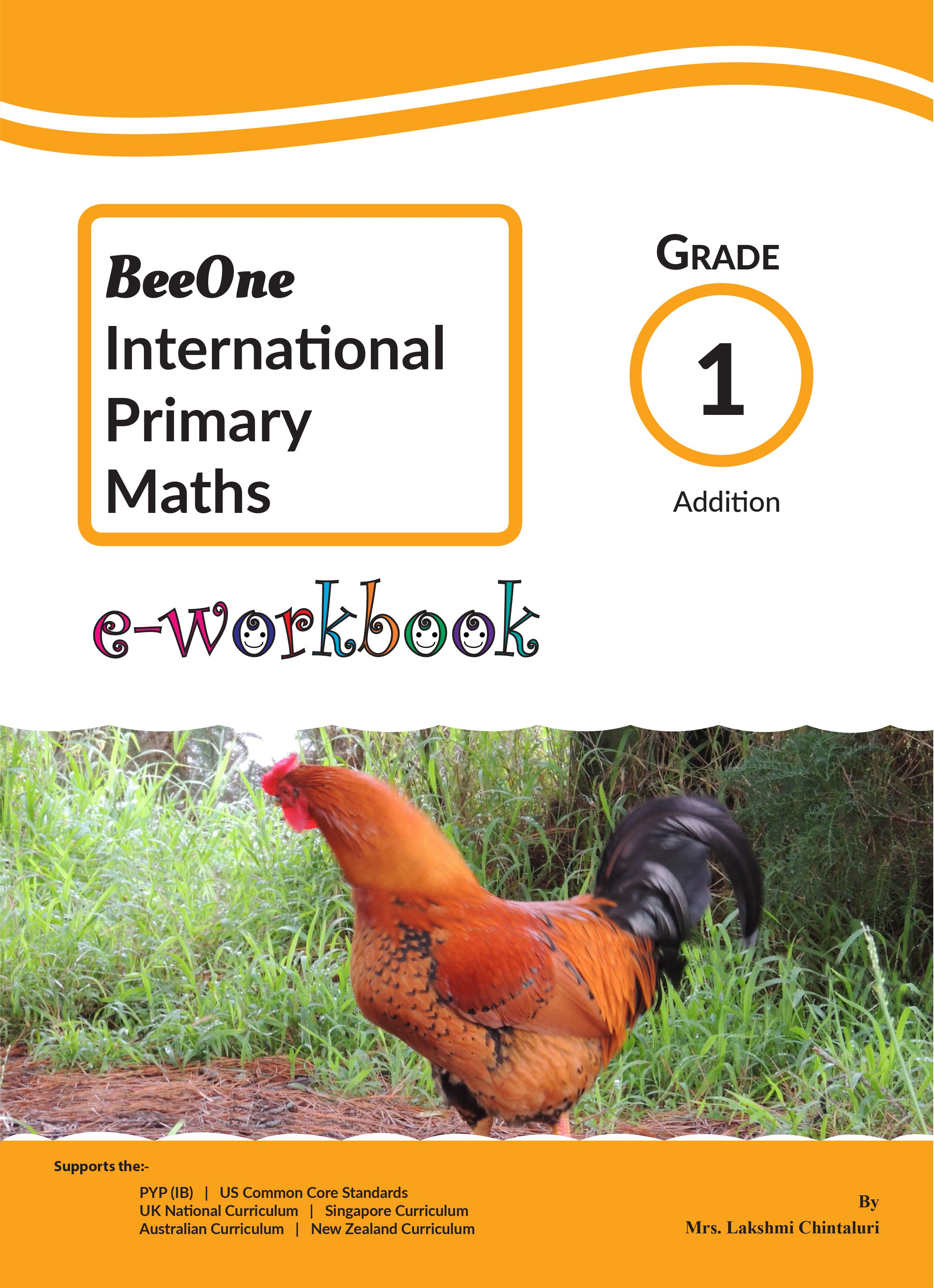 Addition Worksheets E Workbook For Just 1